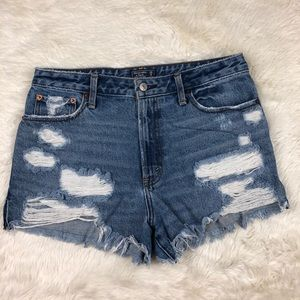 Abercrombie & Fitch Annie high rise shorts